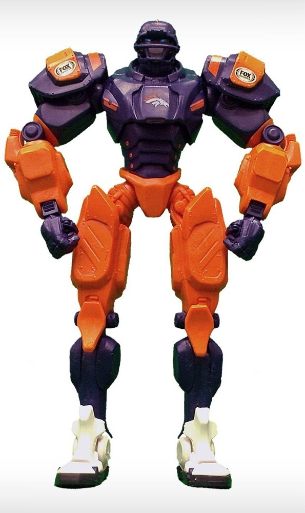 Denver Broncos Fox Sports Robot - 1263301719 - Nfl Football Denver Broncos Robots Figurines 1263301719