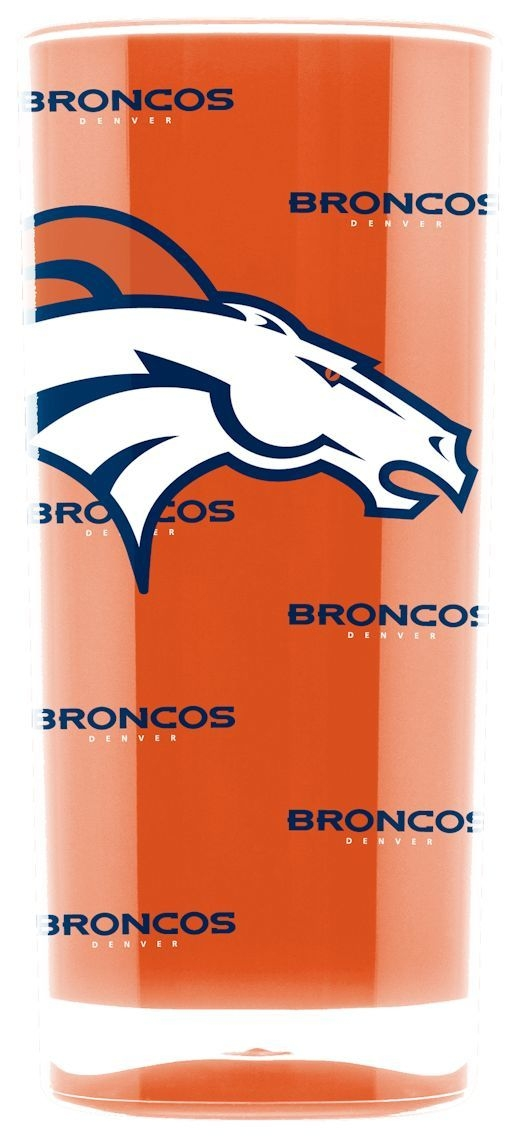 Nfl Football Denver Broncos Tumblers And Pint Glasses - 9413102990 - Denver Broncos Tumbler-square Insulated (16oz) 9413102990