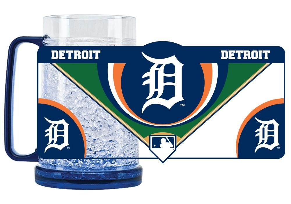 Mlb Baseball Detroit Tigers Coffee Mugs - 9413159506 - Detroit Tigers Mug Crystal Freezer Style 9413159506