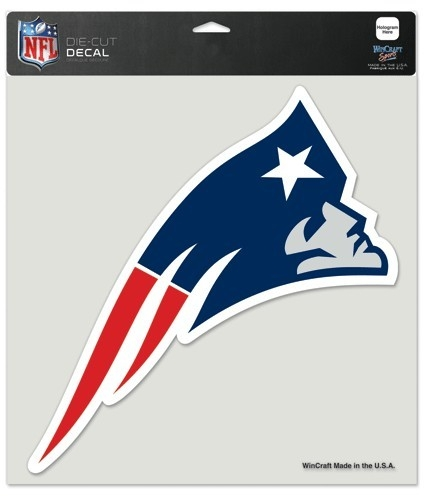 New England Patriots Decal 8x8 Die Cut Color - 3208581010 - Nfl Football New England Patriots Decals 3208581010