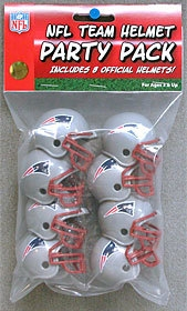 New England Patriots Team Helmet Party Pack - 9585533019 - Nfl Football New England Patriots Party Supplies 9585533019