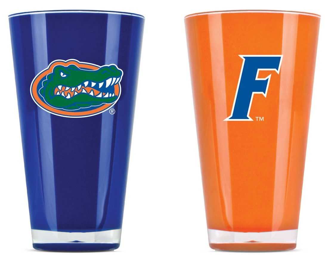 Ncaa College Florida Uf Gators Tumblers And Pint Glasses - 9413101665 - Florida Gators Tumblers-set Of 2 (20 Oz) 9413101665