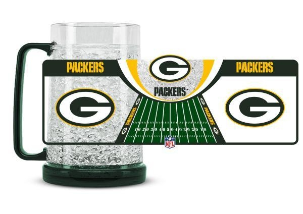 Green Bay Packers Crystal Freezer Mug - 9413159110 - Nfl Football Green Bay Packers Coffee Mugs 9413159110