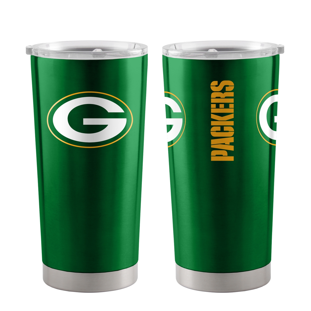 Nfl Football Green Bay Packers Tumblers And Pint Glasses - 8886048752 - Green Bay Packers Travel Tumbler 20oz Ultra Green 8886048752