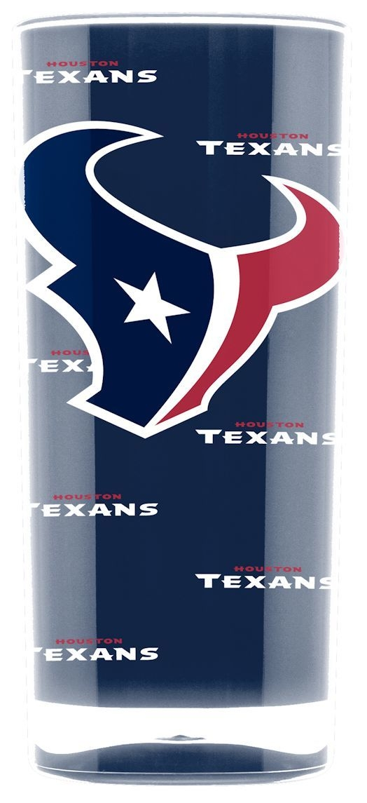 Houston Texans Tumbler-square Insulated (16oz) - 9413103017 - Nfl Football Houston Texans Tumblers And Pint Glasses 9413103017