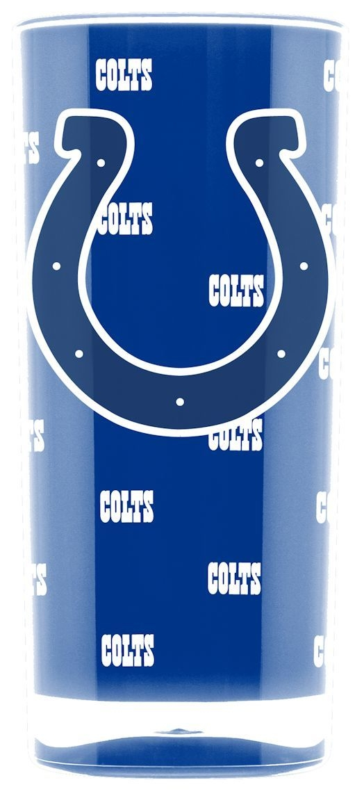 Indianapolis Colts Tumbler-square Insulated (16oz) - 9413102984 - Nfl Football Indianapolis Colts Tumblers And Pint Glasses 9413102984