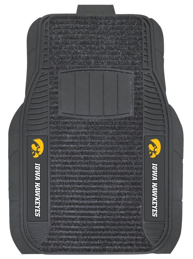 Iowa Hawkeyes Car Mats-deluxe Set - 4298903815 - Ncaa College Iowa Iowa Hawkeyes Car Mats 4298903815