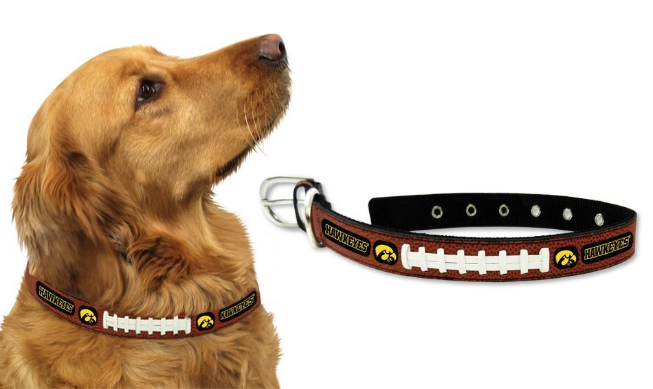 Ncaa College Iowa Iowa Hawkeyes Pet Fan Gear - 4421406258 - Iowa Hawkeyes Dog Collar-large 4421406258