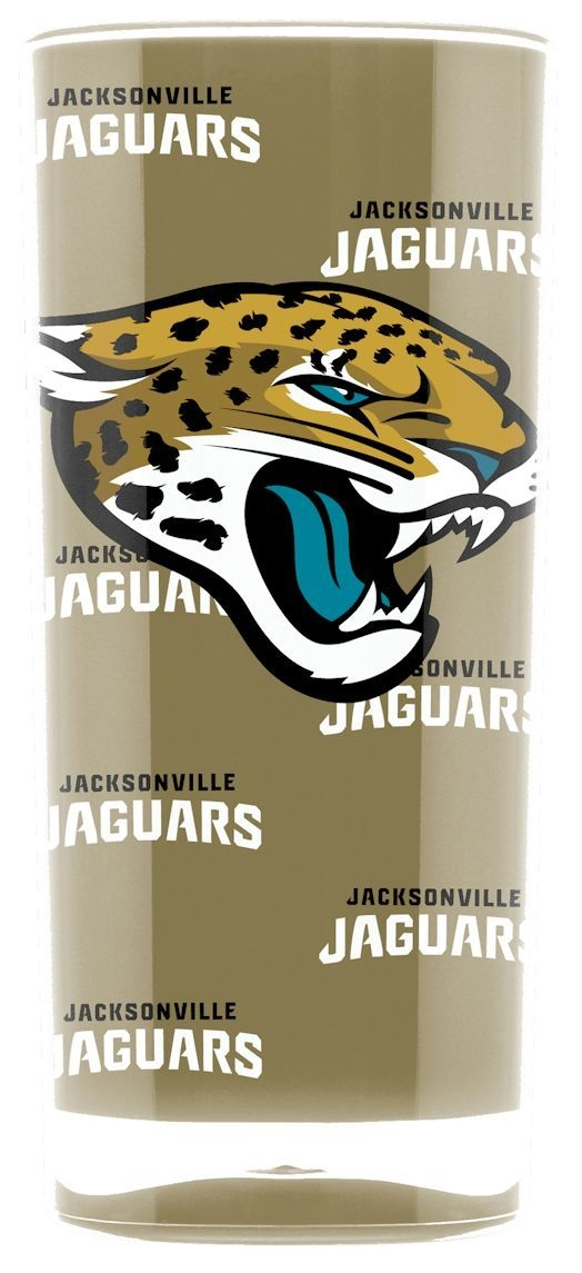 Jacksonville Jaguars Tumbler-square Insulated (16oz) - 9413103015 - Nfl Football Jacksonville Jaguars Tumblers And Pint Glasses 9413103015