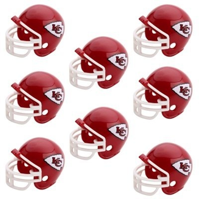 Nfl Football Kansas City Chiefs Party Supplies - 9585533016 - Kansas City Chiefs Team Helmet Party Pack 9585533016