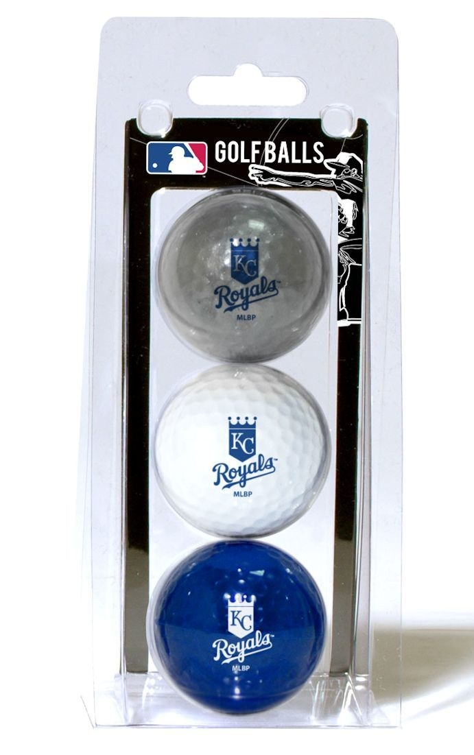 Kansas City S 3 Pack Of Golf Balls - 3755696105 - Mlb Baseball Kansas City S Autographed Items 3755696105