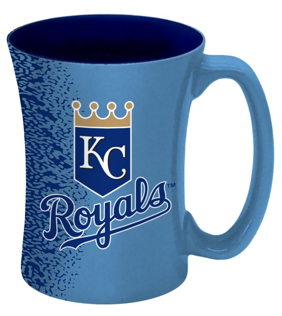Kansas City S Coffee Mug-14 Oz Mocha - 8886013606 - Mlb Baseball Kansas City S Coffee Mugs 8886013606