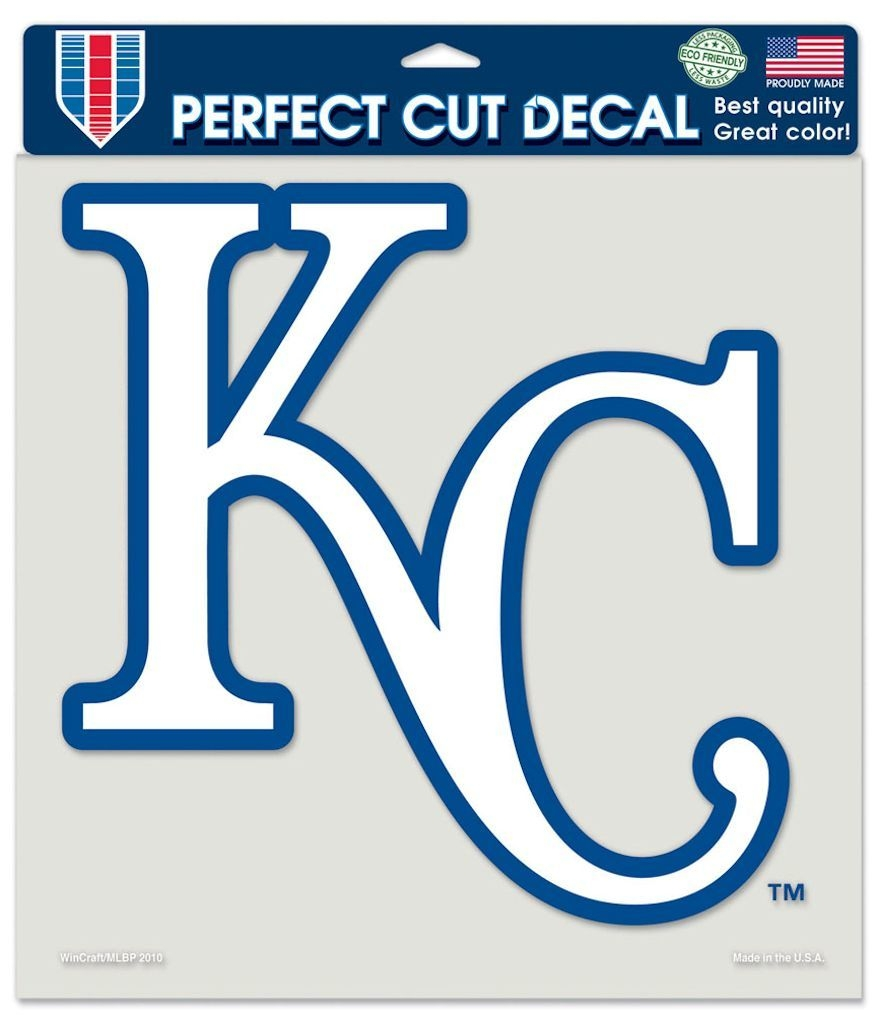 Kansas City S Decal 8x8 Die Cut Color - 3208579923 - Mlb Baseball Kansas City S Decals 3208579923