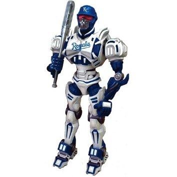Kansas City S Fox Sports Robot - 1263301163 - Mlb Baseball Kansas City S Robots Figurines 1263301163