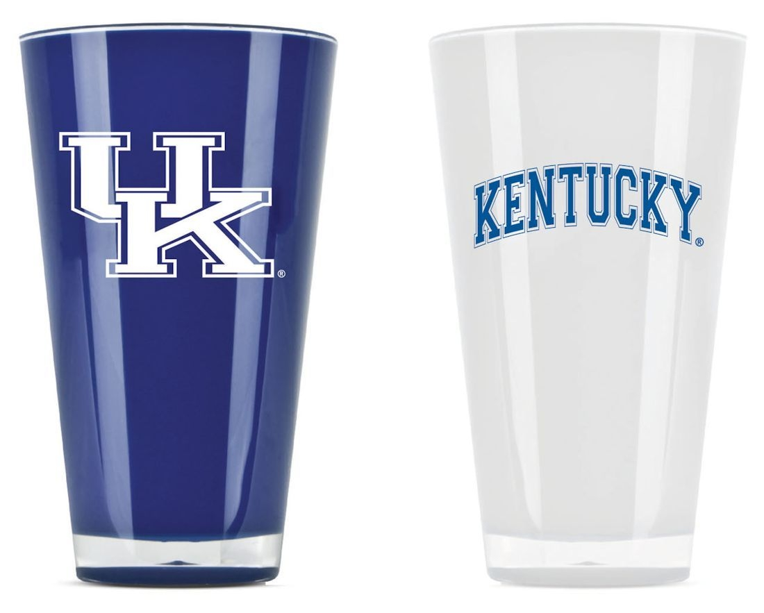 Kentucky Wildcats Tumblers-set Of 2 (20 Oz) - 9413101658 - Ncaa College Kentucky Uk Wildcats Tumblers And Pint Glasses 9413101658