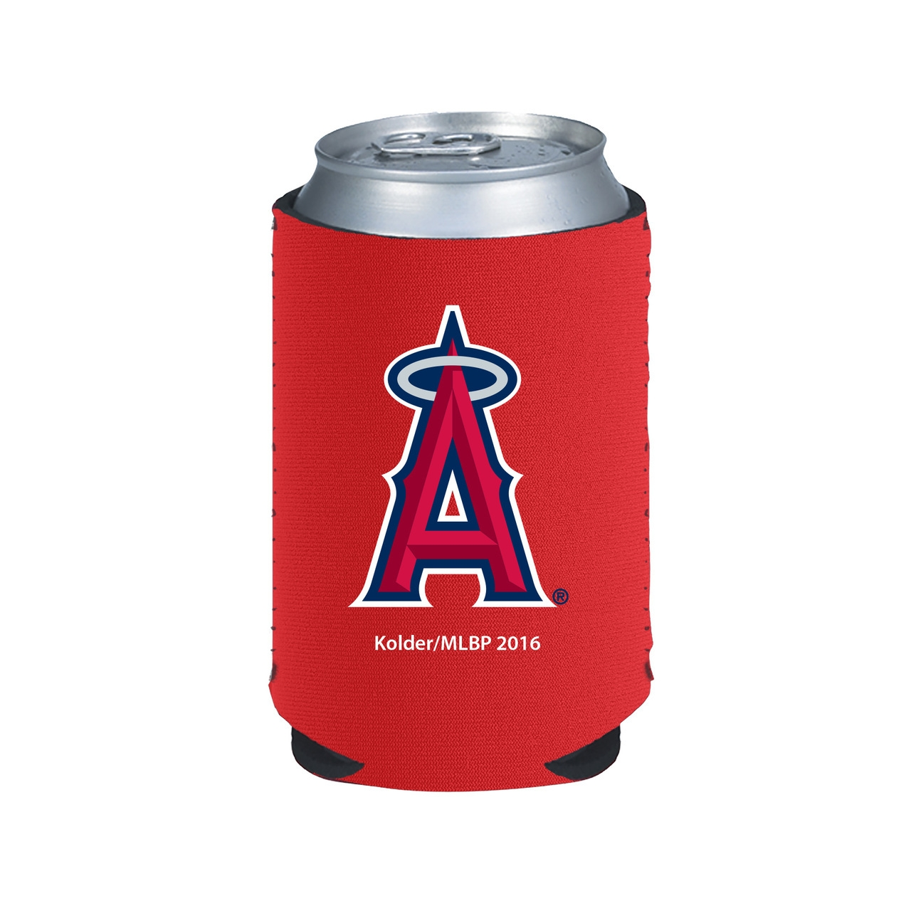Mlb Baseball Los Angeles Angels Of Anaheim Indoor Home Office Lanyards Badge Holders - 8686750024 - Los Angeles Angels Of Anaheim Kolder Kaddy Can Holder 8686750024