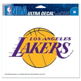 Nba Basketball Los Angeles Lakers Decals - 3208522035 - Los Angeles Lakers Decal 5x6 Color 3208522035