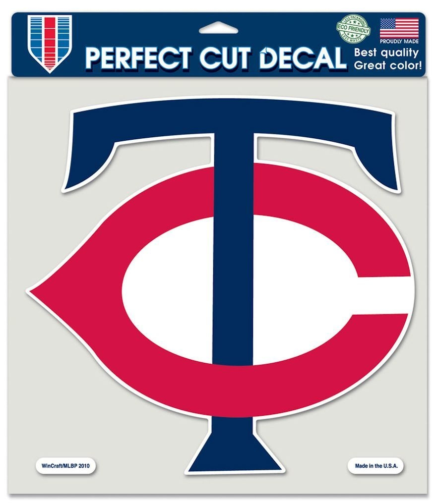 Minnesota Twins Decal 8x8 Die Cut Color - 3208579928 - Mlb Baseball Minnesota Twins Decals 3208579928
