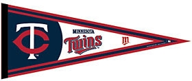 Minnesota Twins Pennant - 3208563806 - Mlb Baseball Minnesota Twins Pennants 3208563806