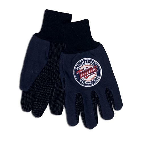 Minnesota Twins Two Tone Gloves-adult Size - 9960694074 - Mlb Baseball Minnesota Twins Gloves 9960694074