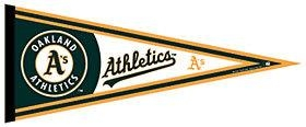 Oakland Athletics Pennant - 3208563810 - Mlb Baseball Oakland Athletics Pennants 3208563810
