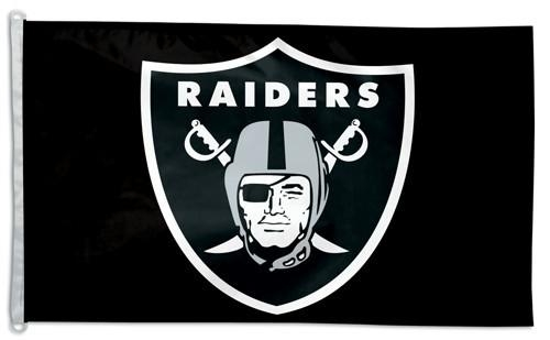 Oakland Raiders Flag 3x5 - 3208586285 - Nfl Football Oakland Raiders 3x5 Flags 3208586285