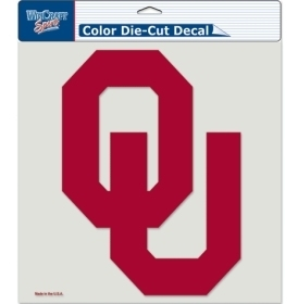 Ncaa College Oklahoma Ou Sooners Decals - 3208580520 - Oklahoma Sooners Decal 8x8 Die Cut Color 3208580520
