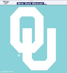 Ncaa College Oklahoma Ou Sooners Decals - 3208531774 - Oklahoma Sooners Decal 8x8 Die Cut White 3208531774