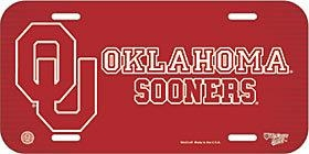 Ncaa College Oklahoma Ou Sooners License Plates Frames - 3208597813 - Oklahoma Sooners License Plate 3208597813