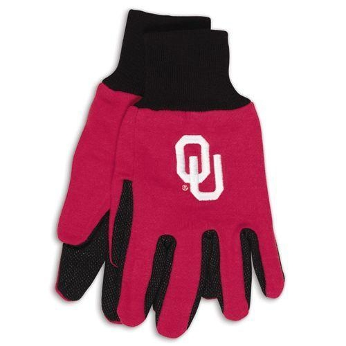 Ncaa College Oklahoma Ou Sooners Gloves - 9960695970 - Oklahoma Sooners Two Tone Gloves-adult 9960695970