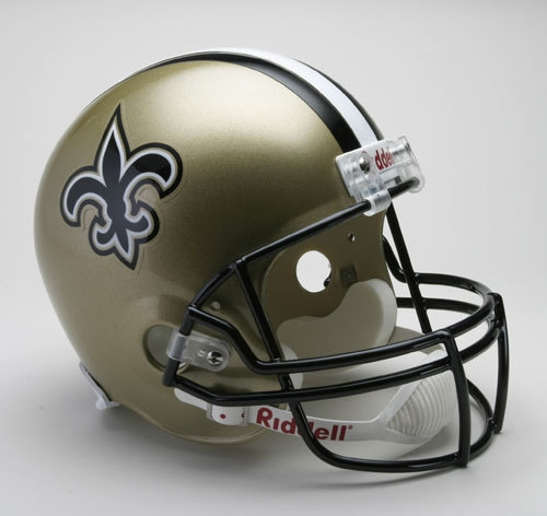 New Orleans Saints Riddell Deluxe Replica Helmet - 9585598745 - Nfl Football New Orleans Saints Helmets Masks 9585598745