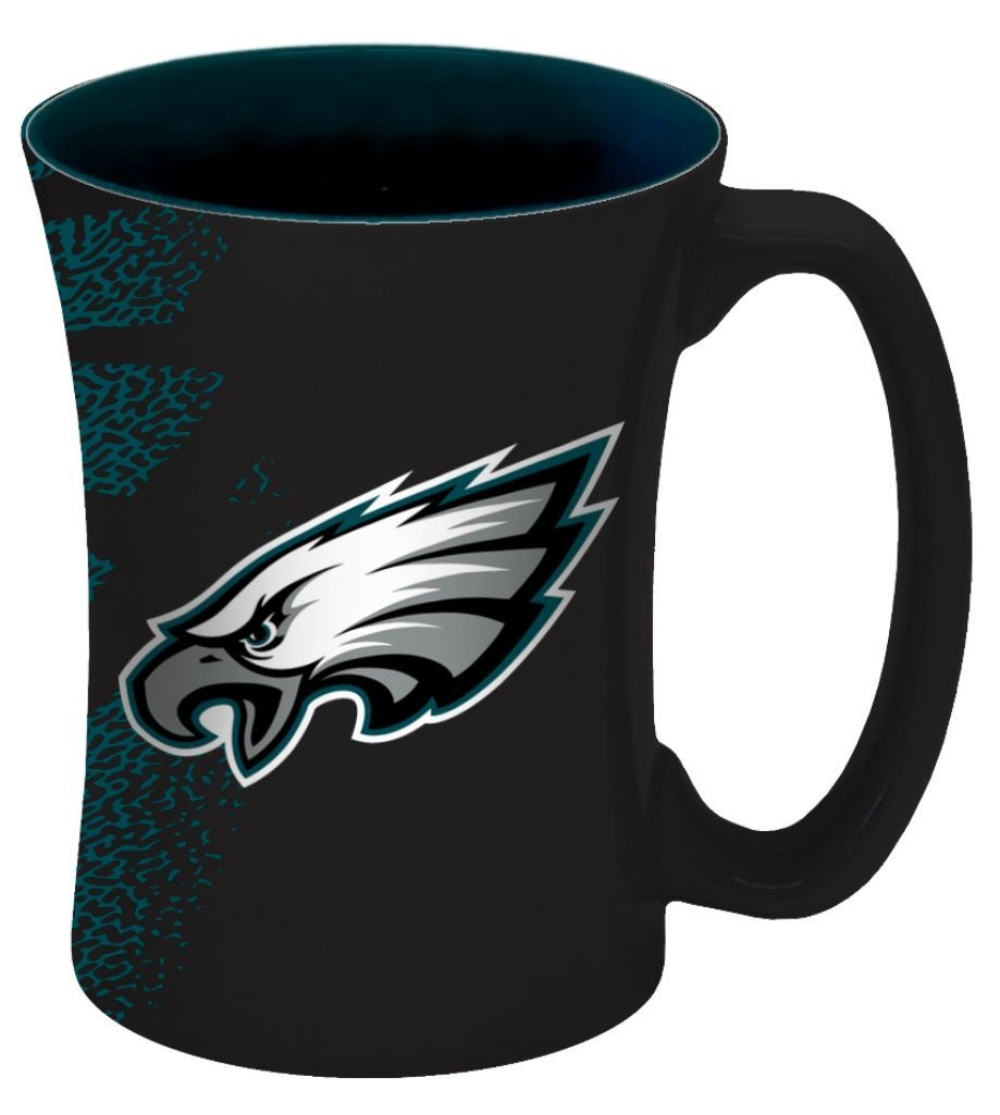 Philadelphia Eagles Coffee Mug-14 Oz Mocha - 8886013562 - Nfl Football Philadelphia Eagles Coffee Mugs 8886013562