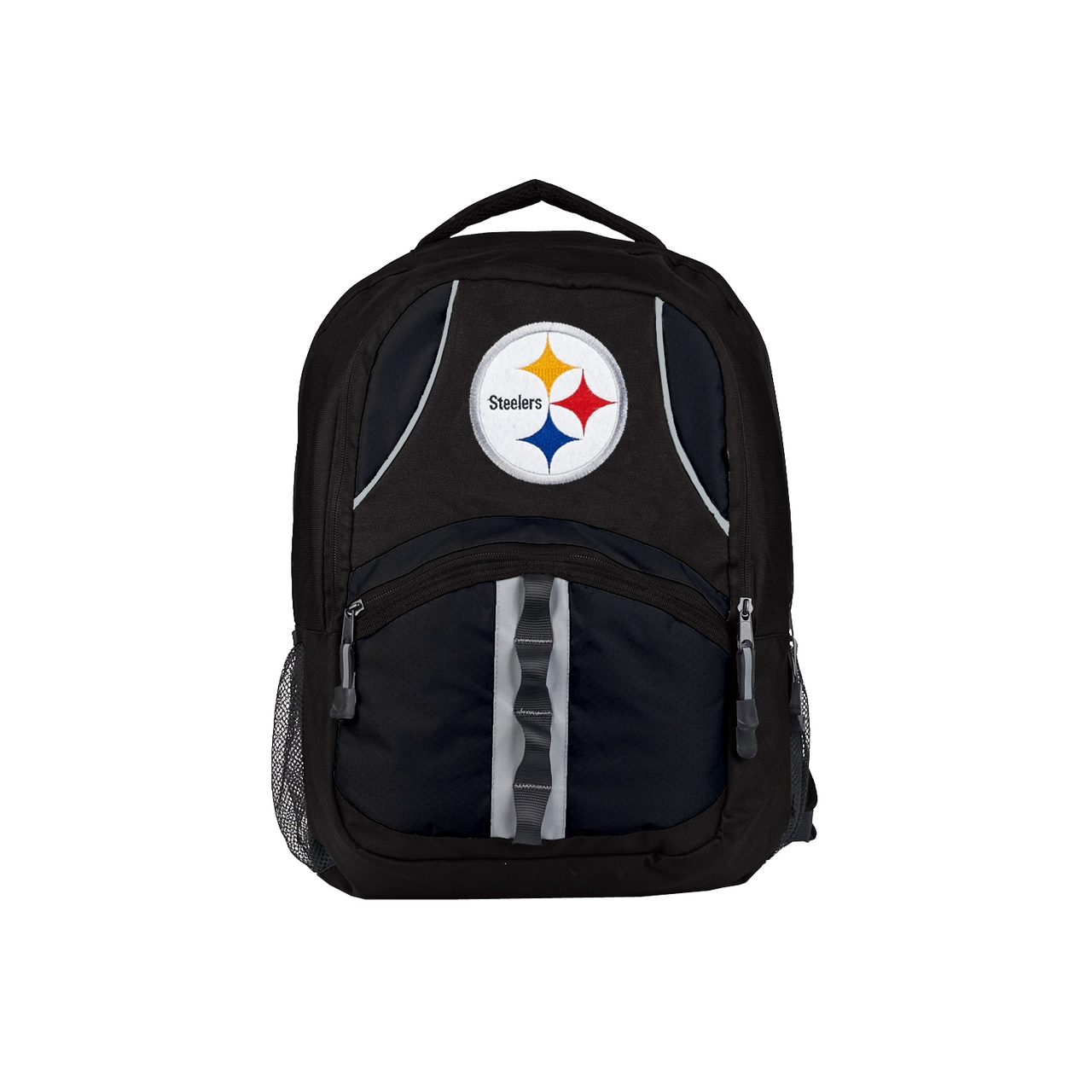 Pittsburgh Steelers Backpack Captain Style Black And Black - 8791890654 - Nfl Football Pittsburgh Steelers Tumblers And Pint Glasses 8791890654