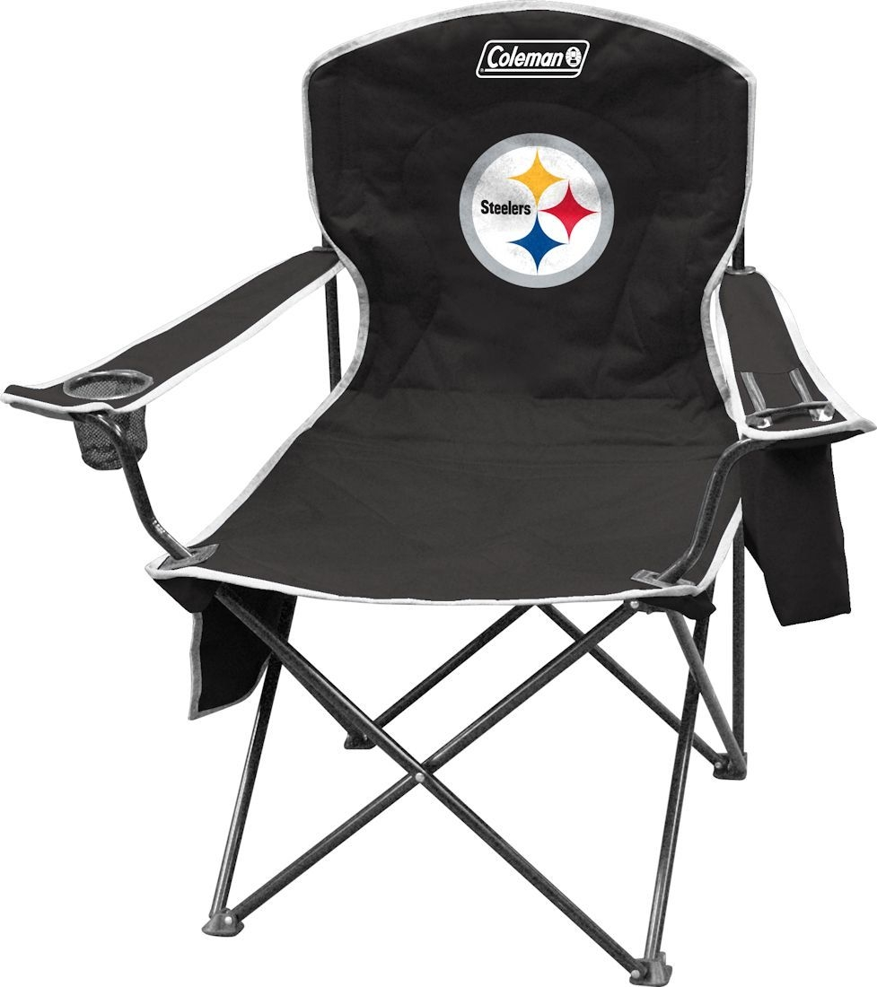 Pittsburgh Steelers Chair Xl Cooler Quad - 1509927724 - Nfl Football Pittsburgh Steelers Bath 1509927724