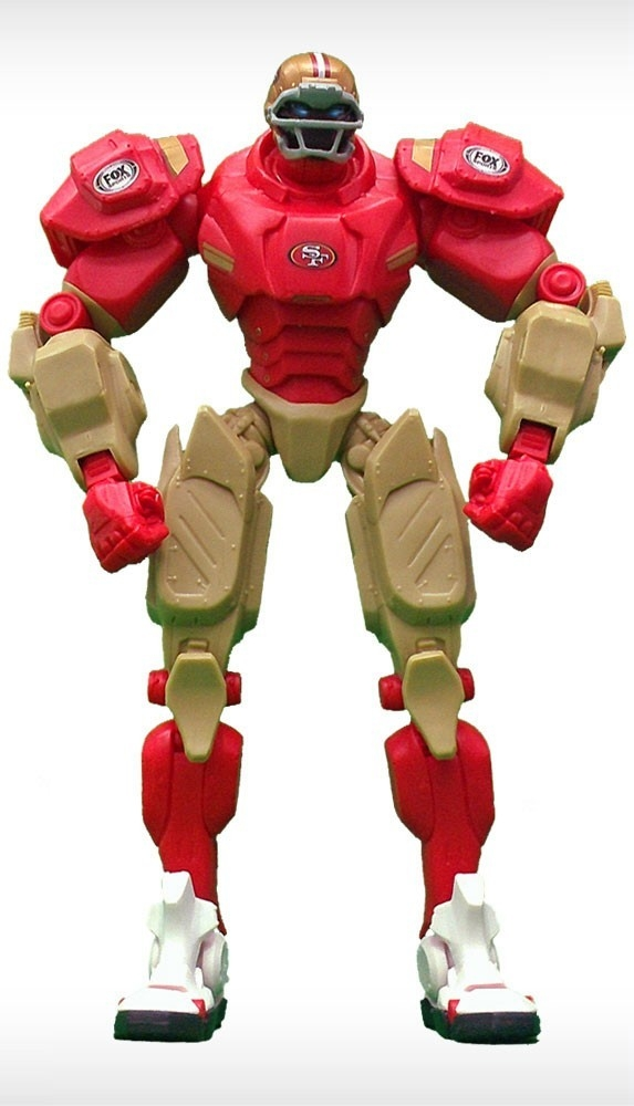 San Francisco 49ers Fox Sports Robot - 1263301753 - Nfl Football San Francisco 49ers Robots Figurines 1263301753
