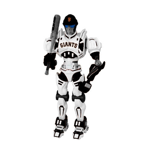 Mlb Baseball San Francisco  Robots Figurines - 1263301173 - San Francisco  Fox Sports Robot 1263301173