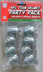 Seattle Seahawks Team Helmet Party Pack - 9585533028 - Nfl Football Seattle Seahawks Party Supplies 9585533028
