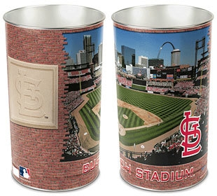 "St. Louis Cardinals 15"" Waste Basket - 1094381054 - Mlb Baseball St Louis Cardinals Storage Boxes 1094381054"