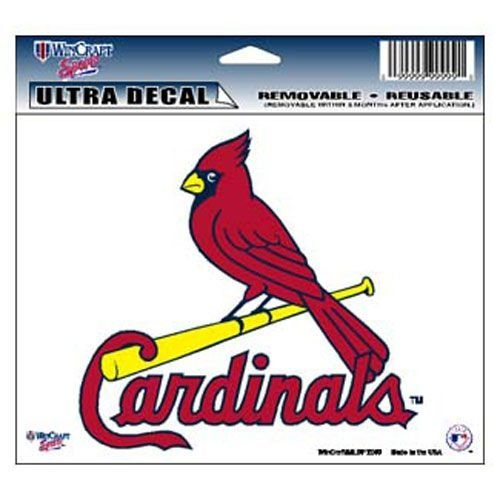 St. Louis Cardinals Decal 5x6 Ultra Color - 3208514432 - Mlb Baseball St Louis Cardinals Decals 3208514432