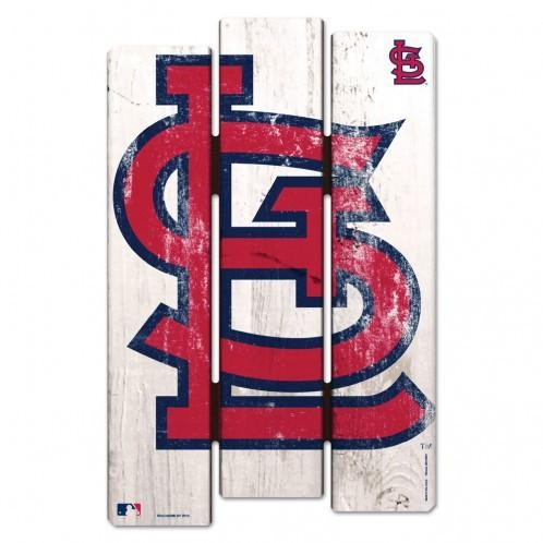 St. Louis Cardinals Wood Fence Sign - 3208501853 - Mlb Baseball St Louis Cardinals Plastic Parking Sign 3208501853