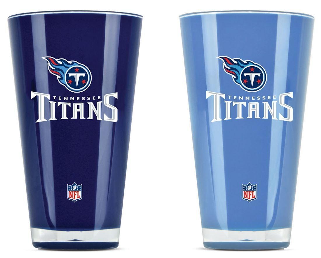 Tennessee Titans Tumblers-set Of 2 (20 Oz) - 9413101648 - Nfl Football Tennessee Titans Tumblers And Pint Glasses 9413101648