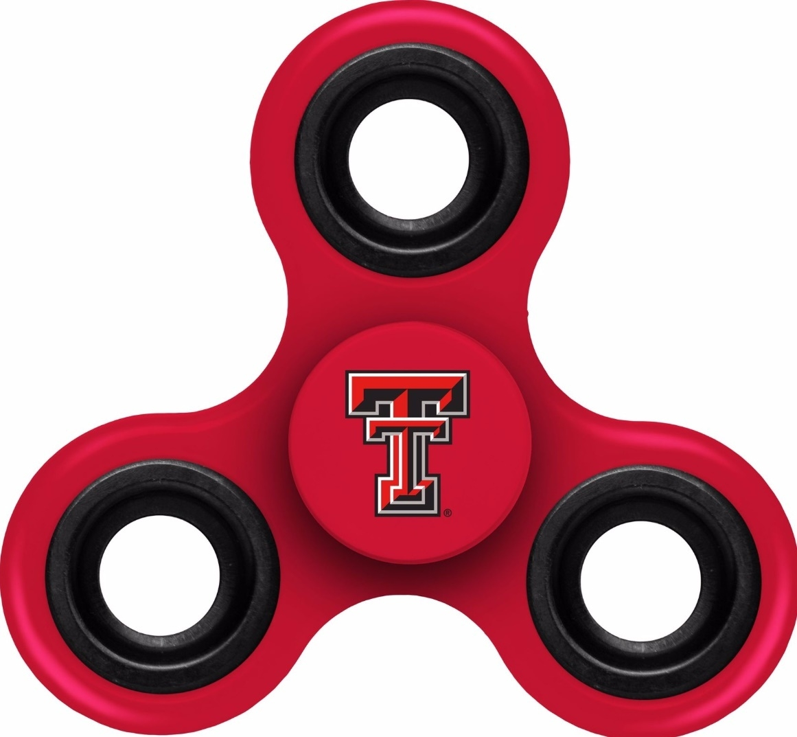 Texas Tech Red Raiders Spinnerz Three Way Diztracto - 9141851278 - Ncaa College Texas Tech Ttu Red Raiders Toys Games Puzzles Games 9141851278