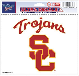 Ncaa College Southern California Usc Trojans Decals - 3208521616 - Usc Trojans Decal 5x6 Ultra Color 3208521616