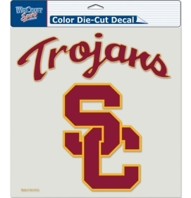Ncaa College Southern California Usc Trojans Decals - 3208580720 - Usc Trojans Decal 8x8 Die Cut Color 3208580720