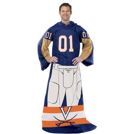 Virginia Cavaliers Blanket Comfy Throw Player Design - 8791855713 - Ncaa College Virginia Uva Cavaliers Comfy Throws 8791855713