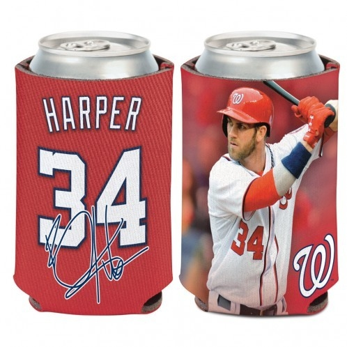 Washington Nationals Bryce Harper Can Cooler - 3208515118 - Mlb Baseball Washington Nationals Desk Accessories 3208515118
