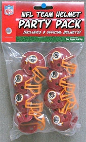 Washington Redskins Team Helmet Party Pack - 9585533032 - Nfl Football Washington Redskins Party Supplies 9585533032