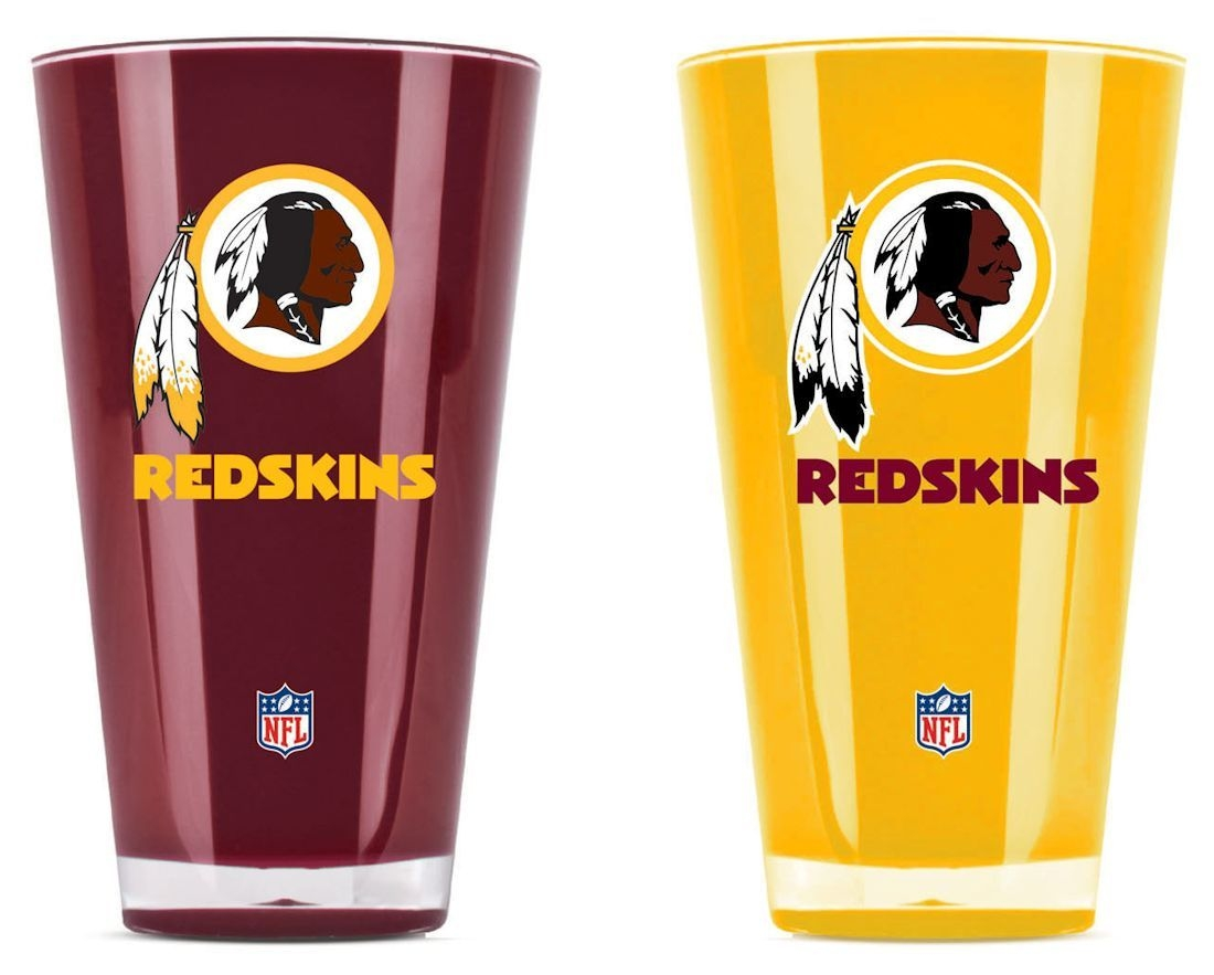 Washington Redskins Tumblers-set Of 2 (20 Oz) - 9413101649 - Nfl Football Washington Redskins Tumblers And Pint Glasses 9413101649