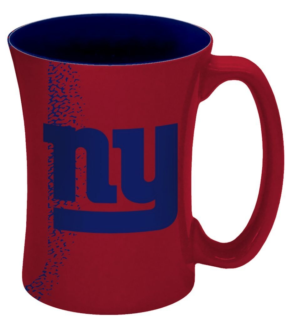 New York  Coffee Mug-14 Oz Mocha - 8886013564 - Nfl Football New York  Coffee Mugs 8886013564