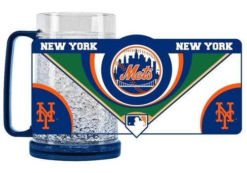 Mlb Baseball New York Mets Coffee Mugs - 9413159523 - New York Mets Mug Crystal Freezer Style 9413159523